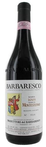 Barbaresco Riserva Montestefano PRODUTTORI DEL BARBARESCO