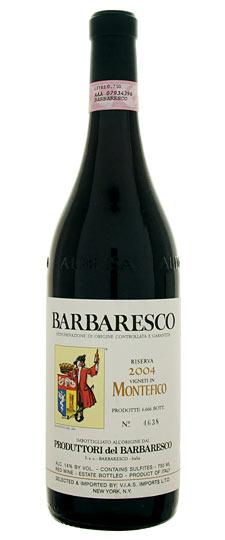 Barbaresco Riserva Montefico PRODUTTORI DEL BARBARESCO