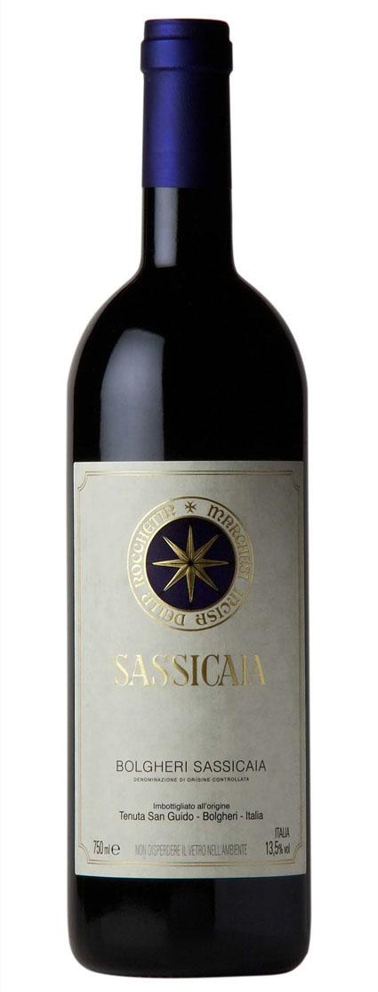 Sassicaia 1997 1999 2008 2007 2009 2010