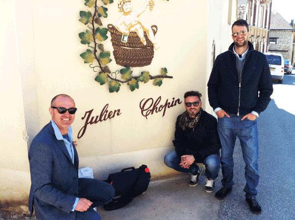 Importazione Champagne Piccoli Produttori - Visita alla Cantina Julien Chopin