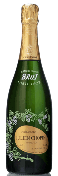 Champagne Carte d'Or Blanc de Blancs Chopin