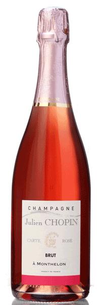 Champagne Carte Rosé Julien Chopin