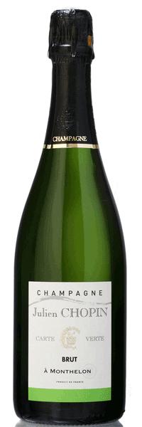 Champagne Carte Verte J. Chopin