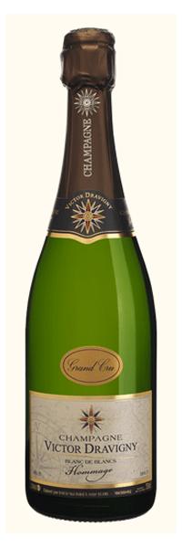 champagne blanc de blancs grand cru victor dravigny