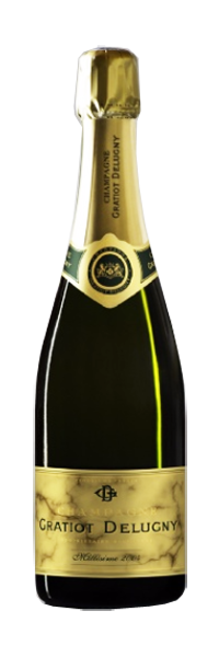 Champagne Brut Millesime 2004 Gratiot Delugny