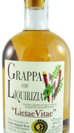 Grappa Moscato con Cannella e Liquirizia Grapperia Alì