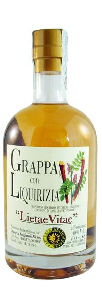 Grappa Moscato con Cannella e Liquirizia Grapperia Alì