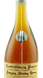 Grappa invecchiata Senza Nome Distilleria Gualco