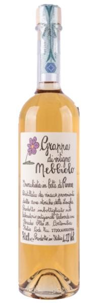 Grappa invecchiata di Nebbiolo Distilleria Valverde