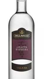 Grappa di Barbera Distilleria Della Valle Villa Isa