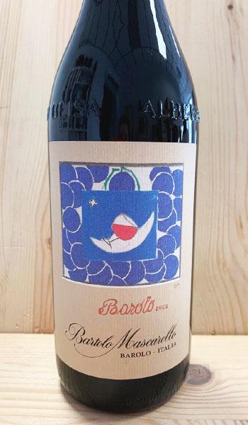 Barolo Bartolo Mascarello 2015 ETICHETTA D'AUTORE Acini d'uva